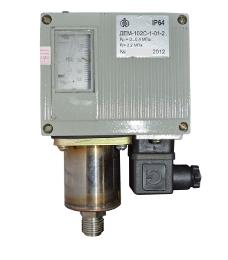 Датчики-реле давления ДЕМ-102С, ДЕМ-105С и разности давлений ДЕМ-202С.  Предназначены для контроля и регулирования...