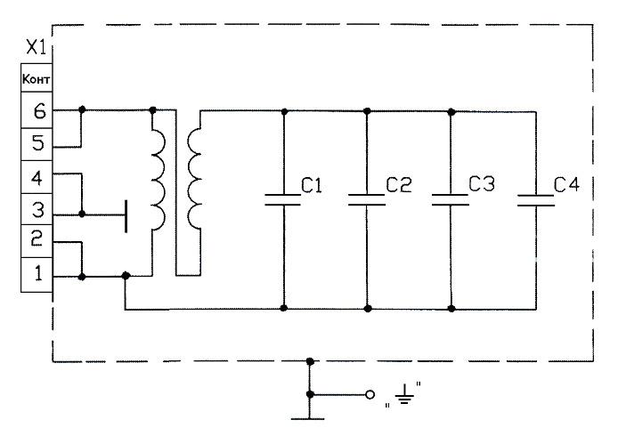 Рис. 2 Схема электрическая
