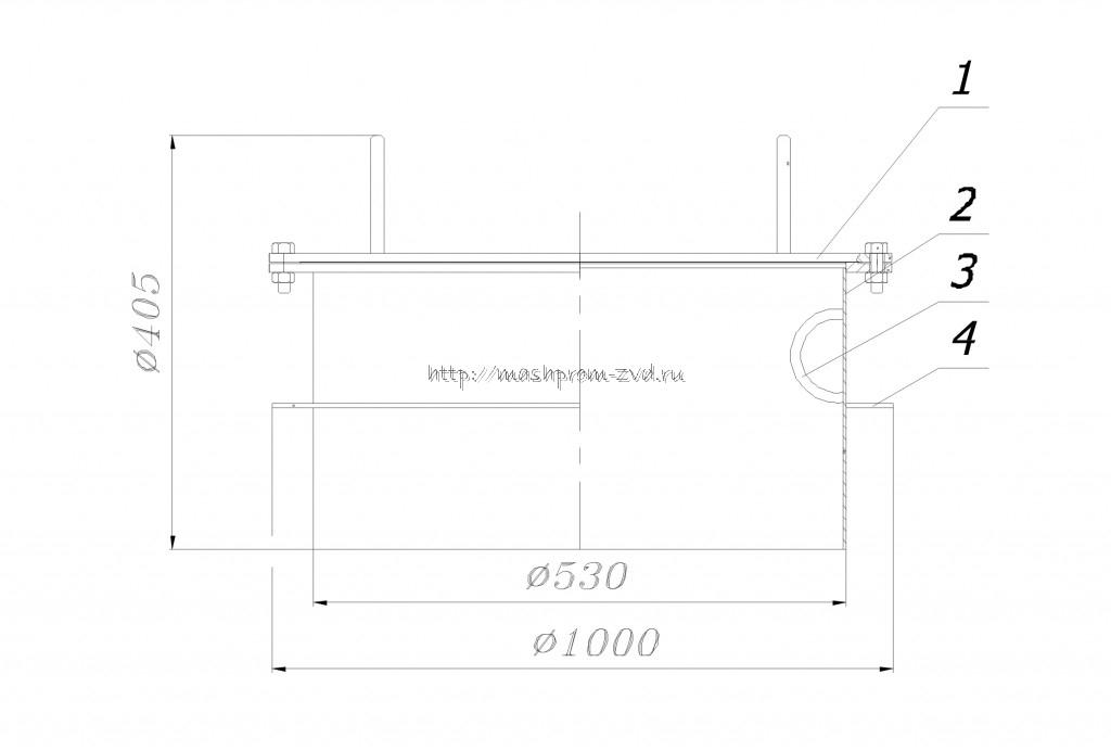 Люк световой ЛС-500