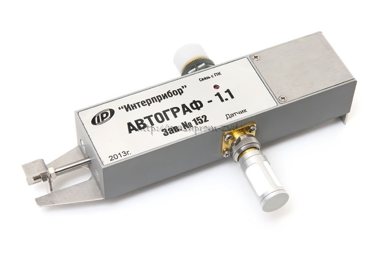 Автономный регистратор процессов сушки кирпича АВТОГРАФ-1.1