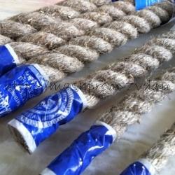 Пеньковый канат тросовой свивки 3-‐х прядный GOST 30055-‐93