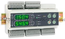 ИТМ-120НУ - Двухканальный универсальный микропроцессорный индикатор на DIN-рейку