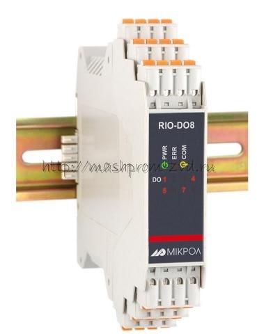 RIO-DO8 - Модуль дискретного вывода 8-ми канальный