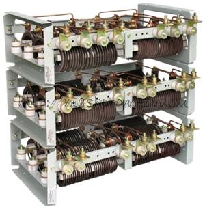 Крановые блоки резисторов фехралевого типа БР6Ф У2