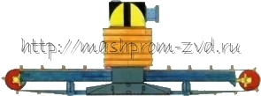 Сепаратор электромагнитный СПШ-04/80