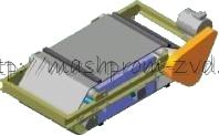Железоотделитель электромагнитный подвесной саморазгружающийся типа ЗСвЕм