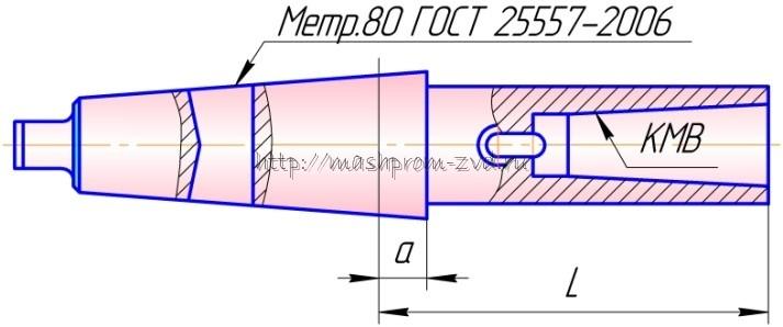 Втулки переходные длинные 6100-4026