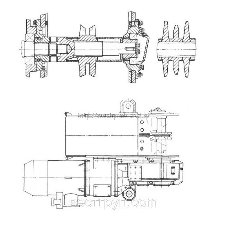 Привод 1С50 (двигатель 1х55кВт)