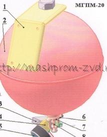 МГПМ - 20 - Модуль газового пожаротушения-малогабаритный