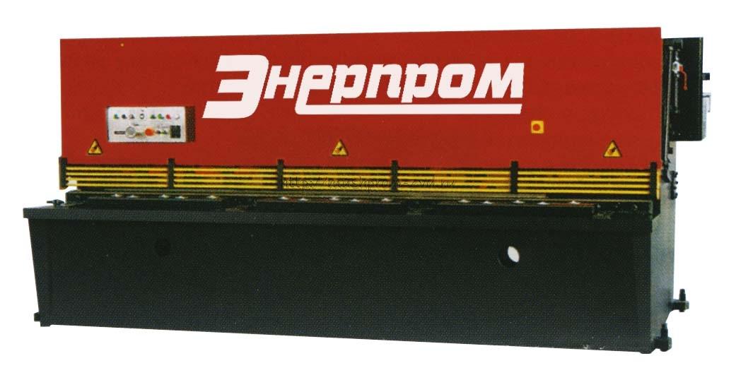 Гидравлические гильотинные ножницы НГГ16x3200
