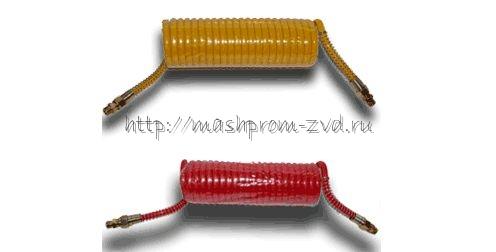 Трубопровод витой 11.3506010 (красный), 11.3506011 (желтый)