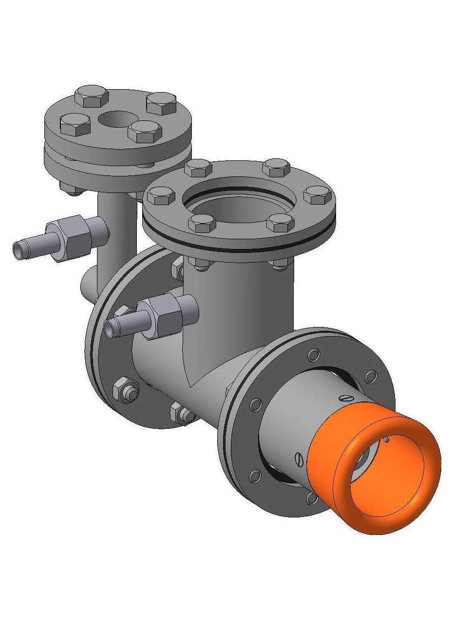 Горелка комбинированная газовая жидкотопливная вихревая ГГВ-10
