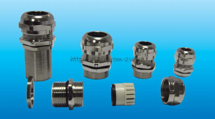 Кабельные вводы для всех типов бронированных и небронированных кабелей CGRR-М20*1,5 –12, CGRR-М25*1,5 –20, CGRR-М25*1,5 –35, CGRR-PG9 –6,5