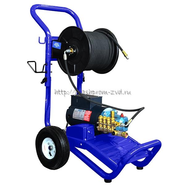 """Аппарат высокого давления для прочистки труб с электроприводом """"Посейдон ВНА-210-10"""""""