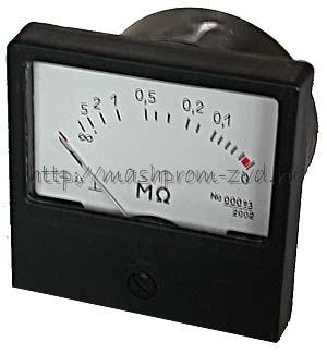 Омметр щитовой М419