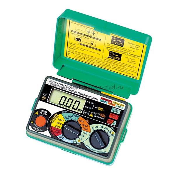 Измеритель параметров электробезопасности KEW 6011A