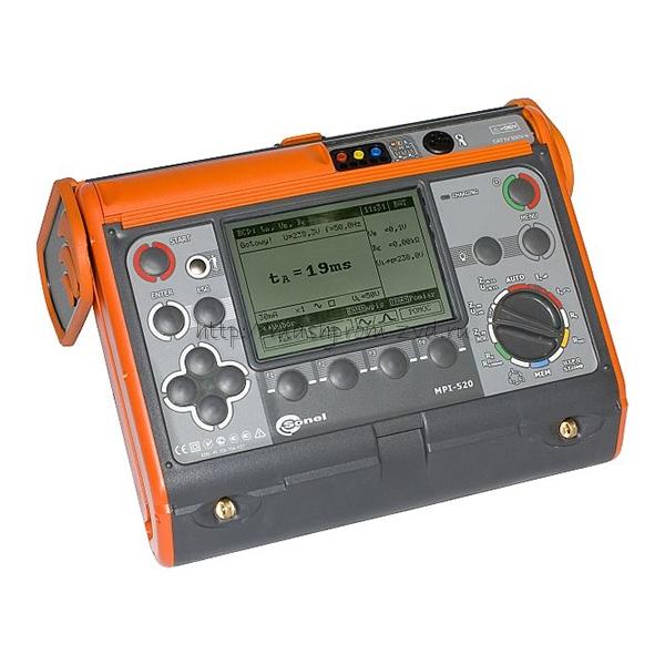 Измеритель параметров электробезопасности электроустановок MPI-520