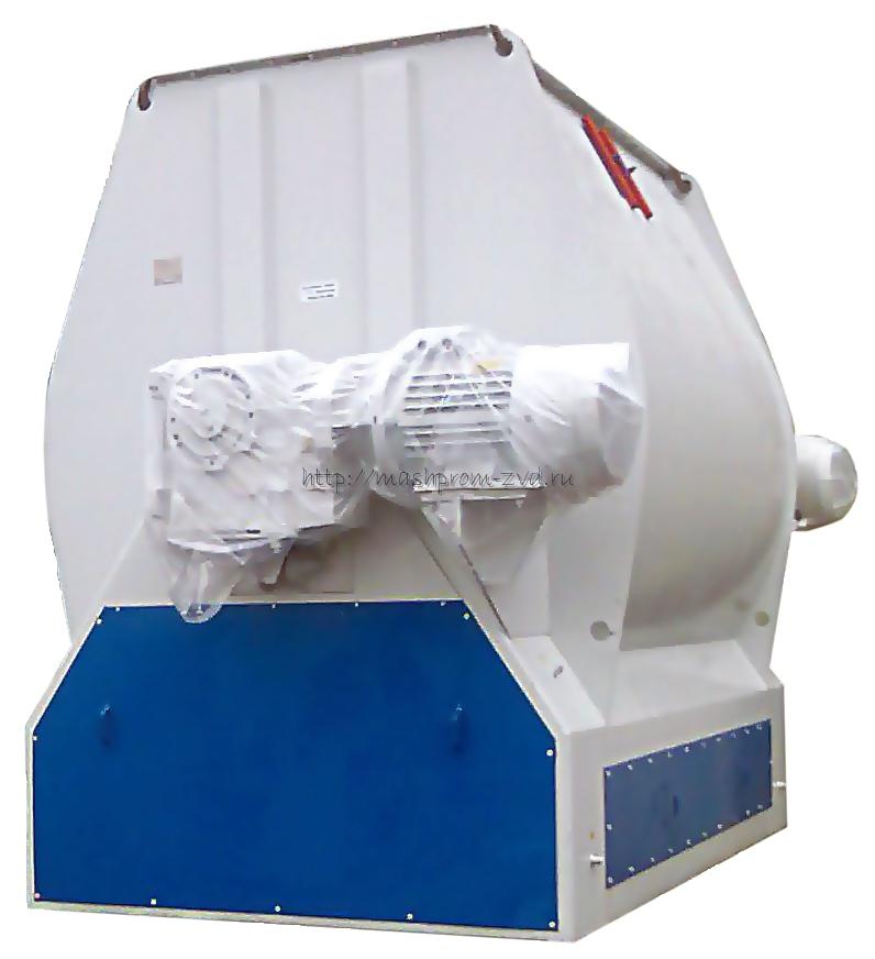 Смеситель горизонтальный скребково-лезвийный периодического действия марки ЗСЛ-6000