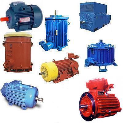 Электродвигатели серий АИММ, РВ-ЗВ, АИУ, АИУМ, ВМЭУ