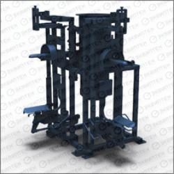Полуавтоматический фасовщик цемента МФЦ-20 в клапанный мешок, 20 т/час