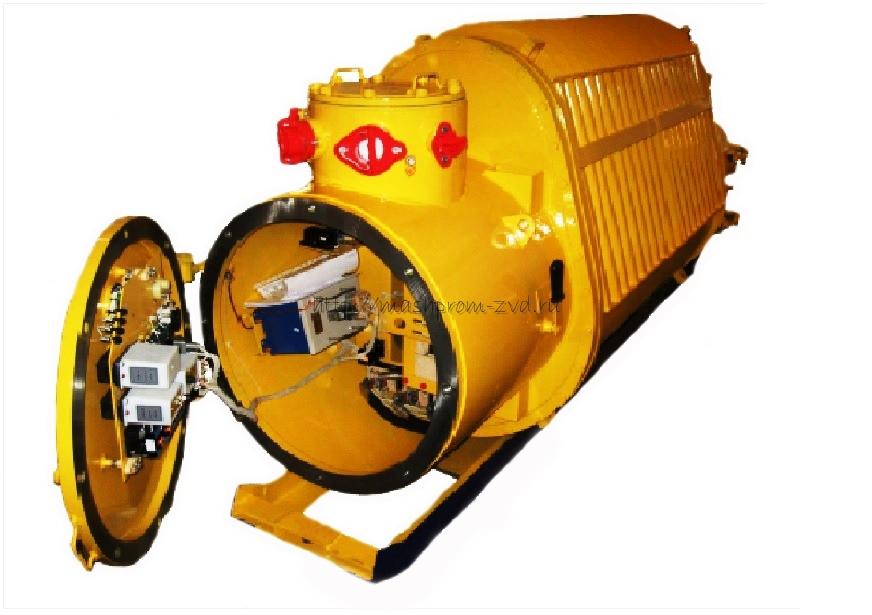 Рудничные комплектные трансформаторные подстанции взрывозащищенные типа ТКПВ
