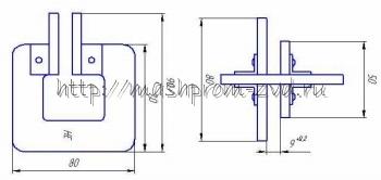 Шаблоны для проверки поглощающих аппаратов ПМК-110 и Ш-6-ТО-4