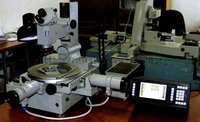 Счетно-координатное устройство СКУ1-МН с микропроцессорным управлением для измерительных микроскопов БМИ