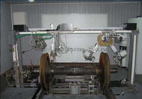 Установка комплексного контроля колесных пар вагонов СНК КП - 8.3