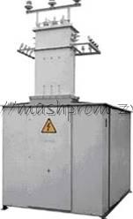 Трансформаторная подстанция КТПН наружная киоскового типа