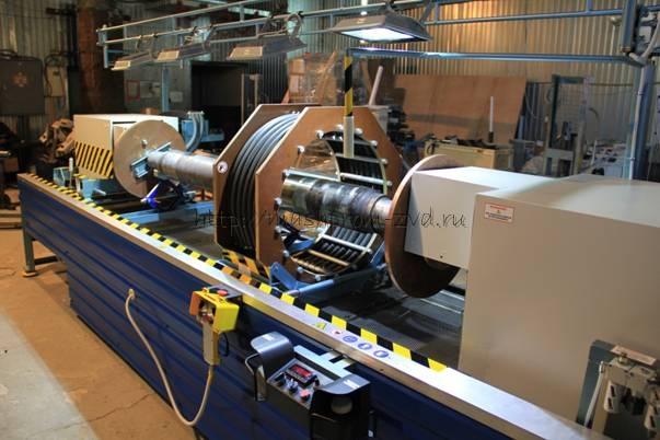 Стенд магнитопорошкового контроля крупногабаритных деталей УМПК-39
