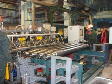 Система автоматизированного комплексного контроля чистовых железнодорожных осей колесных пар вагонов при их выпуске из производства «СНК Ось-3»