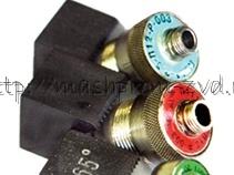 Специальные ультразвуковые контактные наклонные разборные преобразователи П121-2,5-40-Р-003, П121-2,5-45-Р-003, П121-2,5-50-Р-003, П121-2,5-60-Р-003, П121-2,5-65-Р-003, П121-2,5-70-Р-003