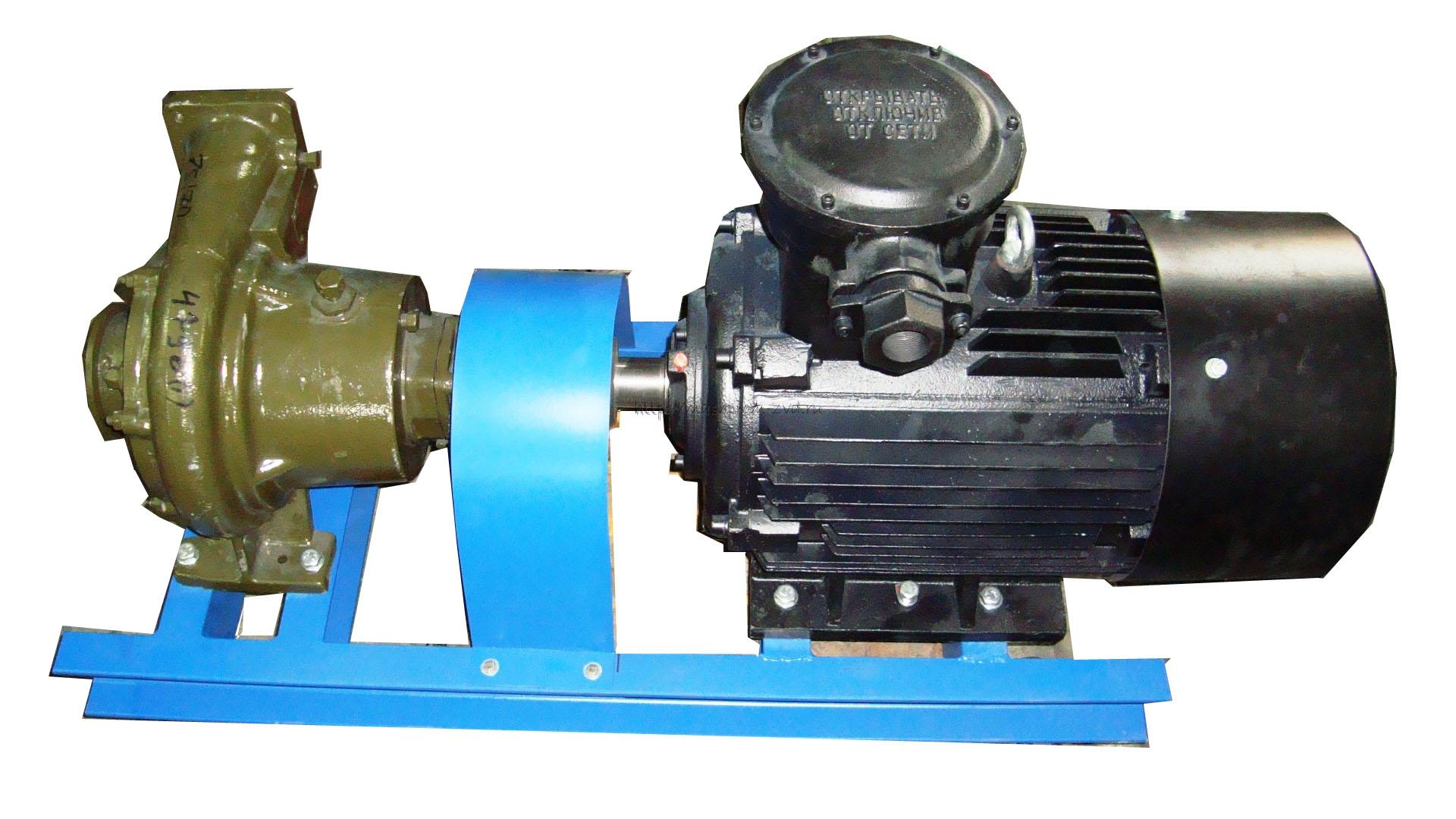 Агрегат насосный АСЦН 75/70, АСЦН 90/80, электродвигатель 22, 30, 37 кВт взрывозащищенный или общепромышленный