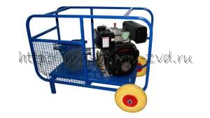 Мотопомпа с бензиновым или дизельным двигателем для светлых нефтепродуктов ТАНКЕР 300-500 л/м