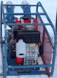 Высоконапорная мотопомпа ТАНКЕР 049 для чистой или слабозагрязненной воды с дизельным или бензиновым двигателем