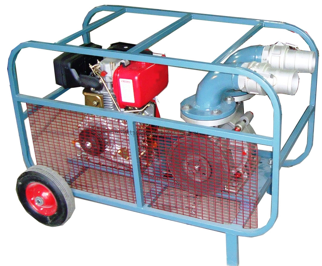 Мотопомпа для перекачки нефтепродуктов, кислот, растворителей и других жидкостей Танкер 049