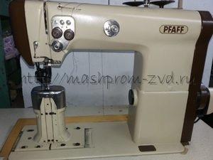 Колонковая двухигольная промышленная швейная машина PFAFF 474