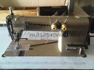 Двухигольная промышленная швейная машина SHANGGONG GK28-1