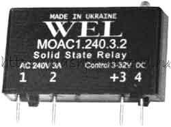 MOAC1,MOAC2 - Твердотельные реле переменного тока