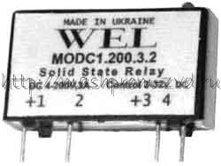 MODC1, MODC2 - Твердотельные реле постоянного тока