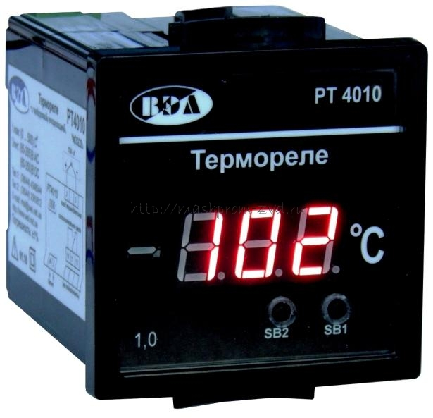 Термореле с цифровой индикацией РТ4010