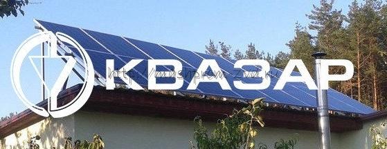 Солнечная электростанция KV7 4 кВт сетевая крышная
