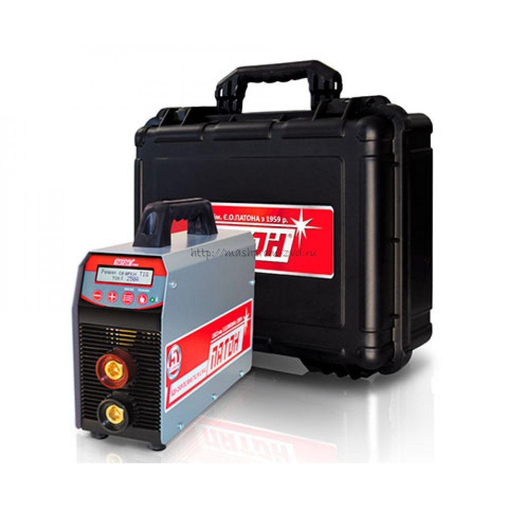 Цифровой инверторный выпрямитель ПАТОН™ ВДИ-200P DC MMA/TIG/MIG/MAG