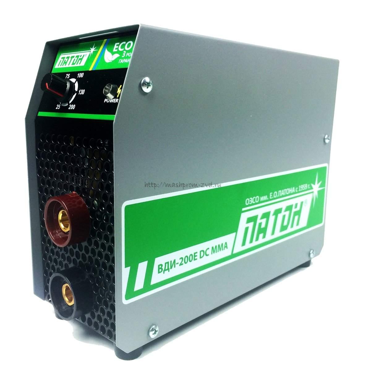 Инверторный выпрямитель ПАТОН™ ВДИ-200E DC MMA