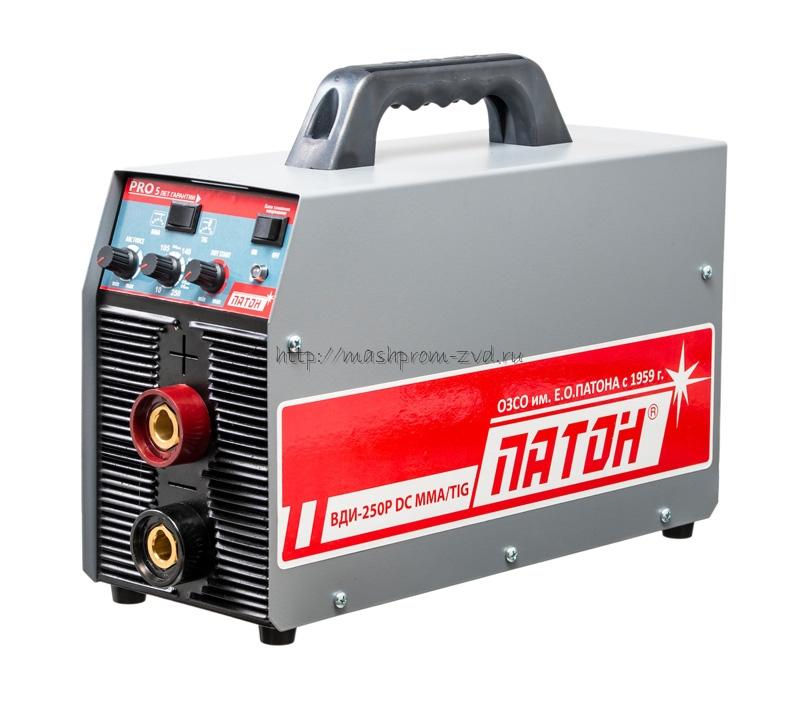 Цифровой инверторный выпрямитель ПАТОН™ ВДИ-250P DC MMA/TIG/MIG/MAG