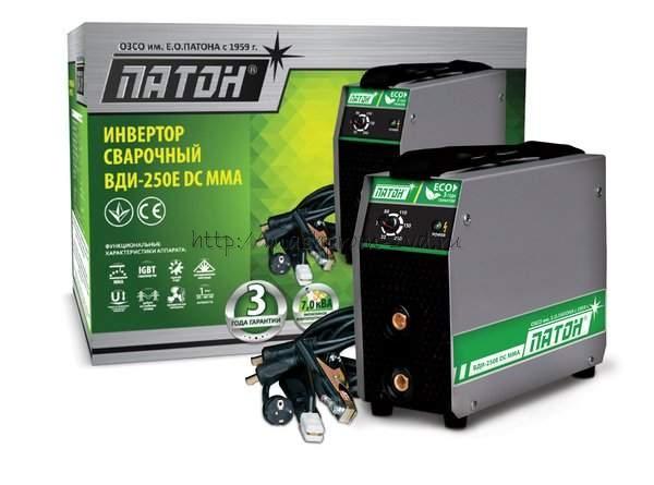 Инверторный выпрямитель ПАТОН™ ВДИ-250E DC MMA