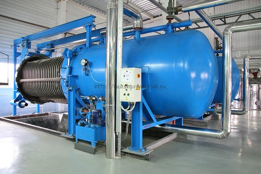 Фильтр горизонтальный напорный пластинчатый ГНП-50, ГНП-60, ГНП-70, ГНП-80, ГНП-100, ГНП-125, ГНП-150