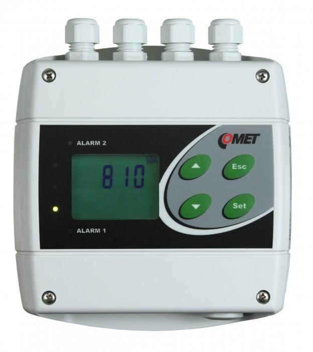 Преобразователи концентрации CO2 с интерфейсами RS232, RS485 и двумя релейными выходами — Датчики H5324 и H5424