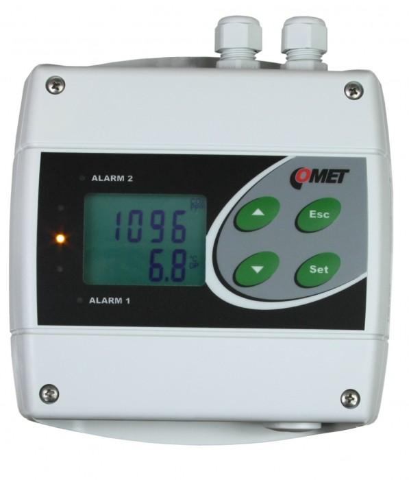 Преобразователь концентрации CO2 с двумя релейными выходами и Ethernet — Датчик H5524