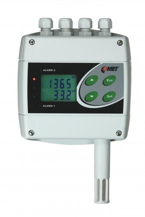 Преобразователи температуры, влажности и концентрации CO2 с интерфейсами RS232, RS485 и двумя релейными выходами — Датчики H6320 и H6420